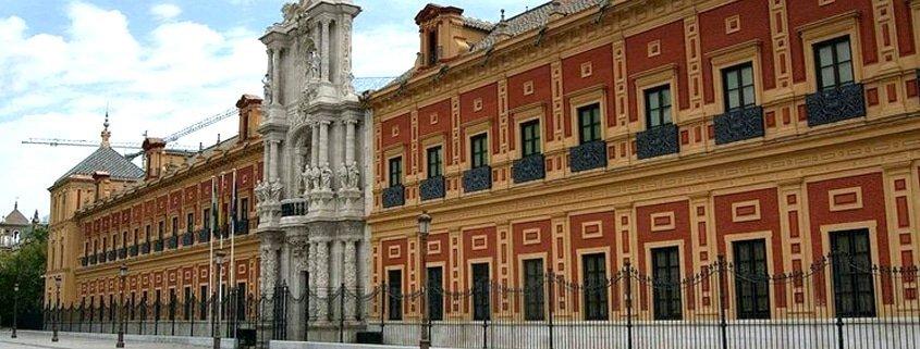 El Palacio de San Telmo,