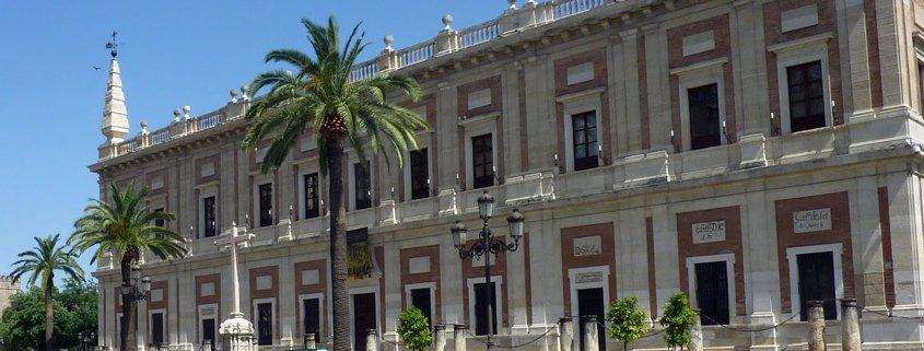 Visitas guiadas en Sevilla. Exposicion en el Archivo de Indias. Una mirada al Nuevo Mundo