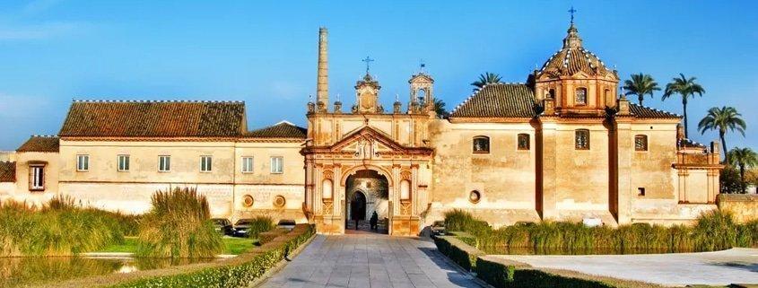 El Monasterio Santa María de las Cuevas, el Monasterio de la Cartuja