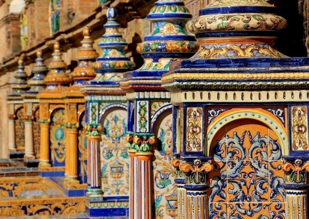 Resultado de imagen de sevilla azulejos