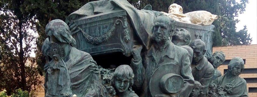 EL CEMENTERIO DE SAN FERNANDO: TOREROS, FLAMENCOS Y ARTISTAS.