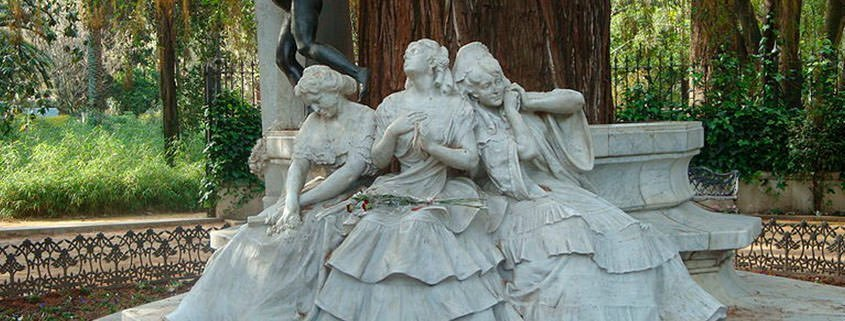 La Glorieta de Bécquer en el Parque de María Luisa