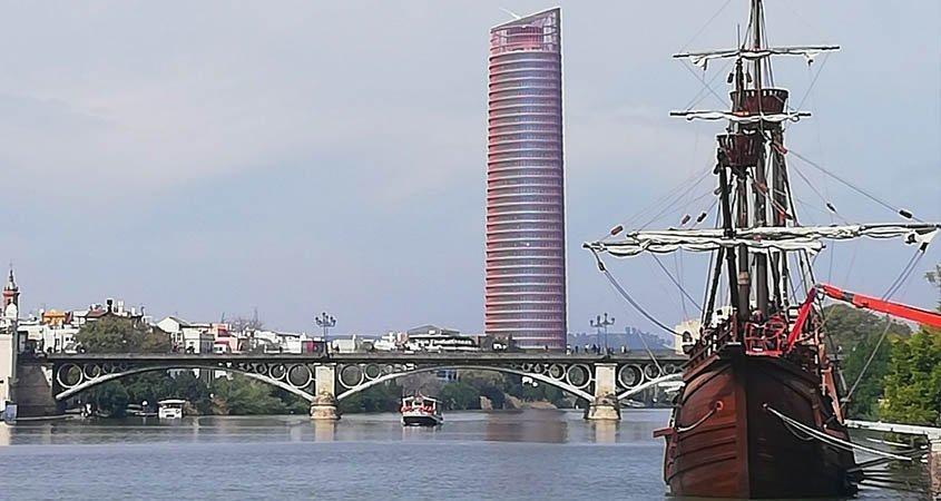 Por qué Sevilla en la primera vuelta al mundo