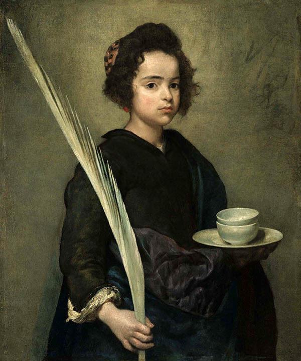 Retrato de Santa Rufina
