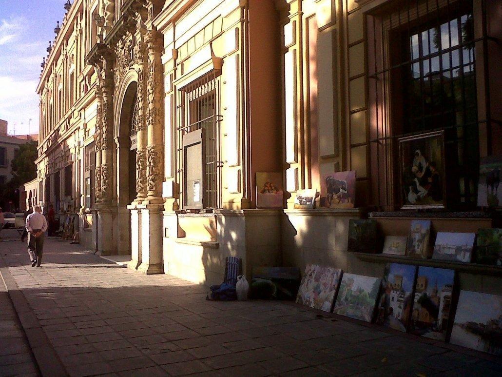 Plazas con encanto de Sevilla