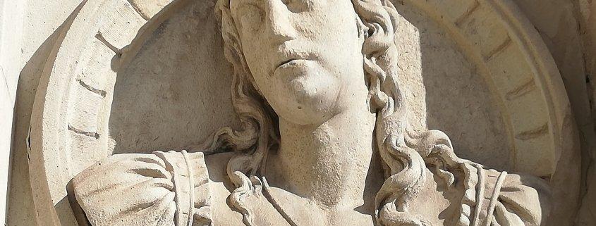 Medallon de inspiracion romana