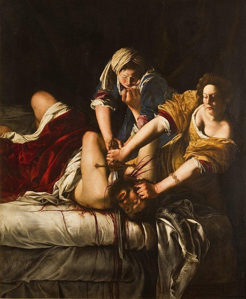 Historia del Arte en Sevilla. Las más bellas pinturas y esculturas 1. Magdalena dormida de Artemisia Gentileschi