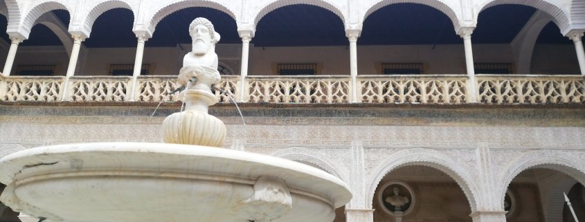 3 palaces of Seville and classical mithology