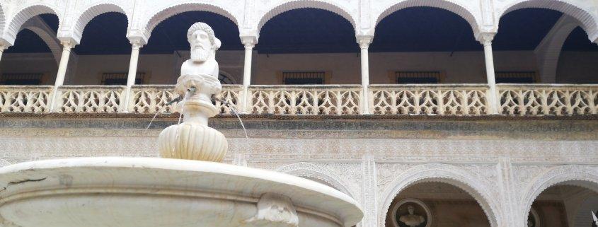 3 PALACIOS DE SEVILLA Y LA MITOLOGÍA CLÁSICA